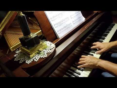 """Piano Solo """"What A Friend We Have In Jesus."""" 1909 Chickering 6'4"""" Piano, Scale 123."""