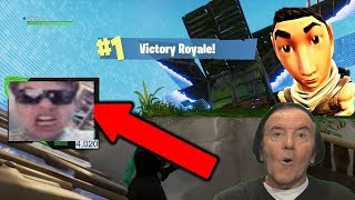 EASY VICTORY AT FORTNITE CHILDREN COME HERE TO GIVE LIKES AND POSITIVE COMMENTS ICI