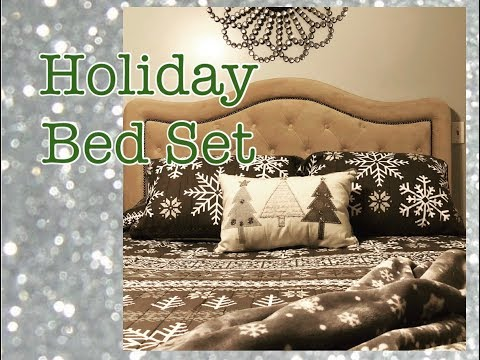 holiday-bedding-from-kohl's-|-christmas-bedroom-decor-|-the-green-notebook