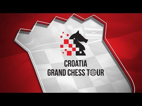 2019 Croatia Grand Chess Tour: Round 2