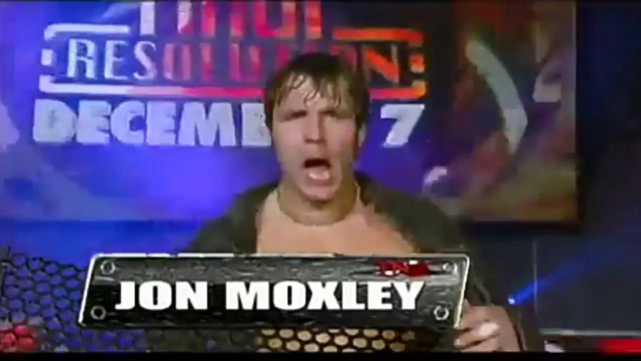 Dean Ambrose In TNA (Jon Moxley Vs Dr Porter) - YouTube