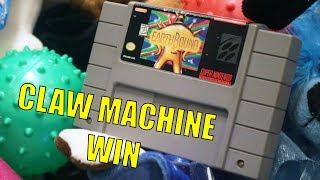 WINNING EARTHBOUND IN A CLAW MACHINE!