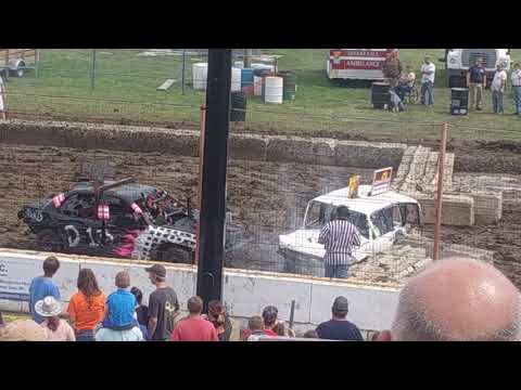 Dodge County Fair Demo derby #1