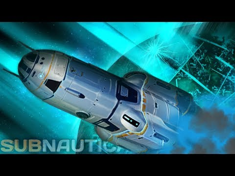 Subnautica - EXPLORE SPACE?! & END OF THE WORLD, Neptune Rocket Info, NEW Alt Ending Info - Gameplay