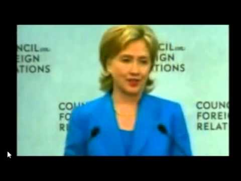 Hillary Clinton gets her orders from the CFR! (Council on Foreign Relations)
