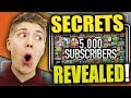 How To Get 5000 Subscribers on YouTube Fast - Thank You