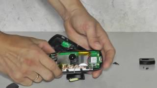 dOD LS460W Замена аккумулятора в автомобильном видеорегистраторе. Battery replacement DOD LS460W