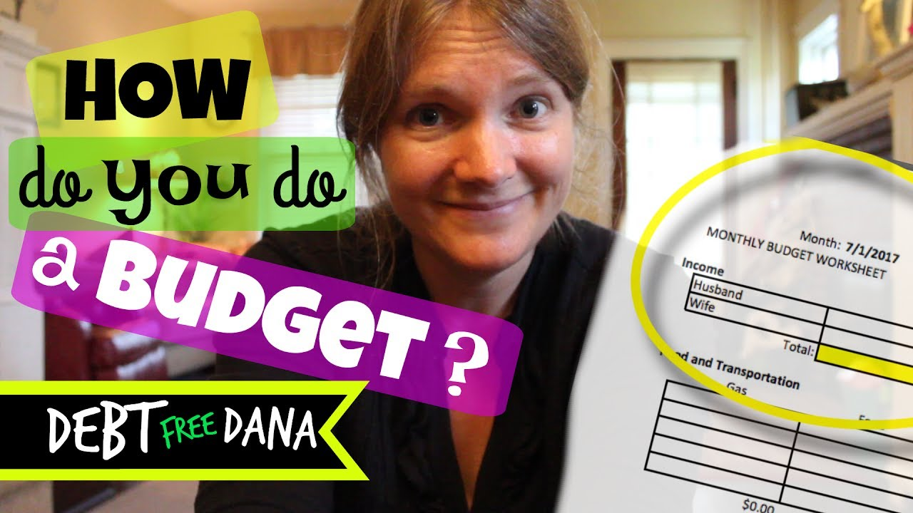 Free Budget Template How To Budget Your Money Youtube