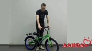 Детский велосипед Profi Top Grade L20102 зеленый для мальчиков