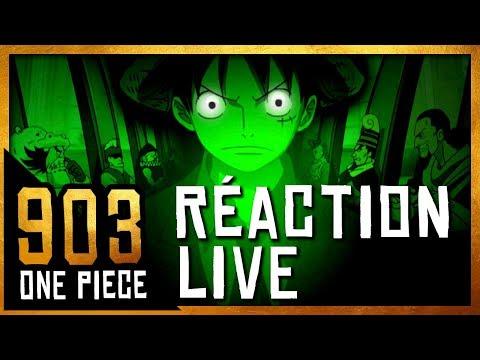 LE TROLL MONSTRUEUX D'ODA - réaction live chapitre one piece 903