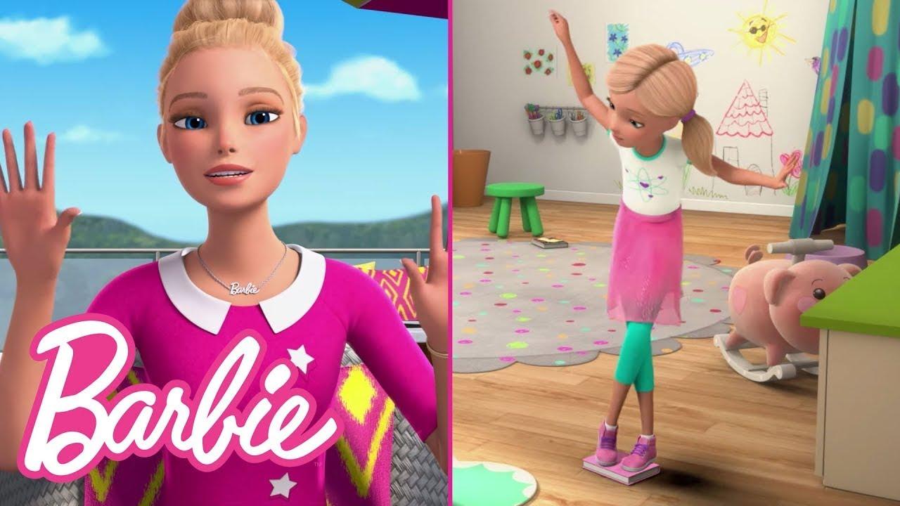 Floor is Lava Challenge with Chelsea! | Barbie Vlogs | @Barbie