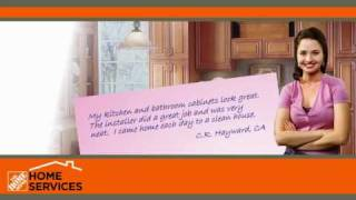 The Home Depot Home Services Kitchen Cabinet Refacing