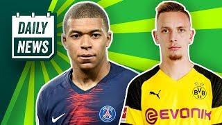 PSG verliert Mbappé? Fußballgott verlässt Bundesliga! Karius-Ersatz von AS Rom? Daily News