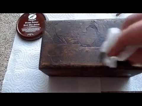 How to quickly restore faded and water damaged antique wood