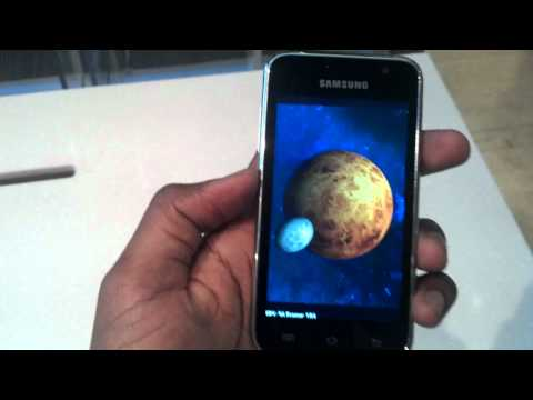 Samsung Galaxy Player 4.0 Quadrant Benchmark