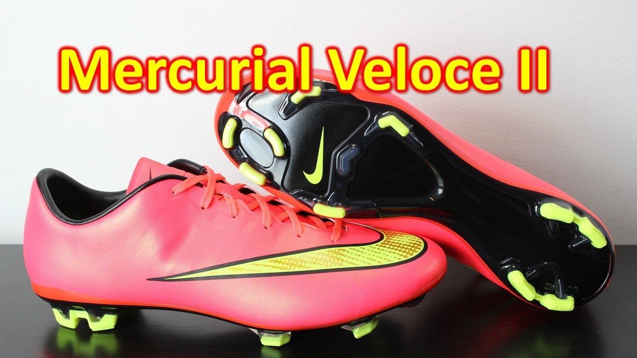 c3e6542573a4 Nike Mercurial Veloce 2 Hyper Punch Volt - Unboxing + On Feet - YouTube