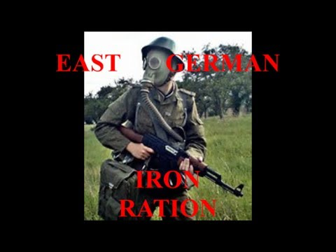 EAST GERMAN IRON RATION FROM 1984 TASTING