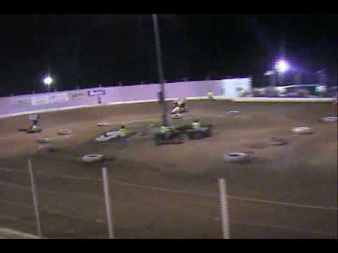 Micro Sprint Win At Borger's Speedway