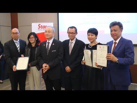 Star Media Group inks deal with Shanghai Media Group