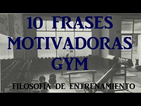 10 Frases Motivadoras Gym Youtube