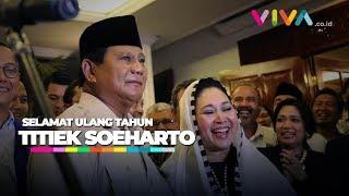Download Video Titiek Soeharto Tersipu Dapat Ucapan Ulang Tahun Dari Prabowo MP3 3GP MP4