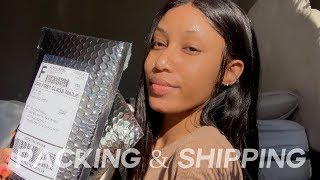 Ep.1 LIFE OF AN ENTREPRENEUR: SHIPPING OFF ORDERS | Lashaii Lax (VENDOR SITE PINNED BELOW!)