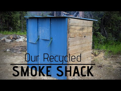 Pallet Smoker Build | Canning Smoked Salmon