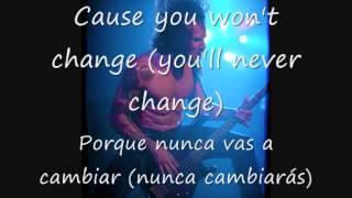 Egypt Central - Just Another Lie Lyrics (Subtítulos español)