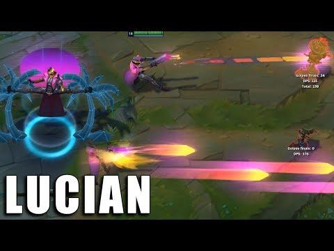Lucian Demacia Vice - League of Legends (Prévia)