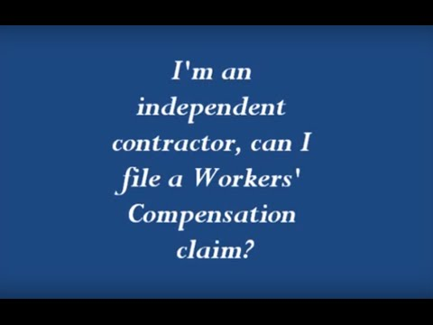 Charming Iu0027m An Independent Contractor, Can I File A Workersu0027 Compensation Claim?