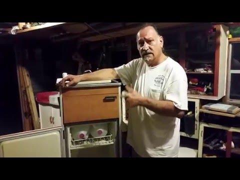 1970 Westy Camper Mobil sink/icebox cabinet restor
