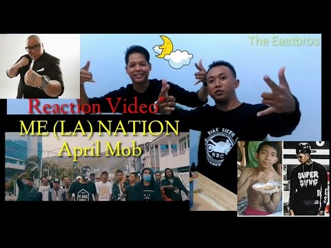 ME (LA) NATION - April MOB - Reaction Video hip-hop Papua