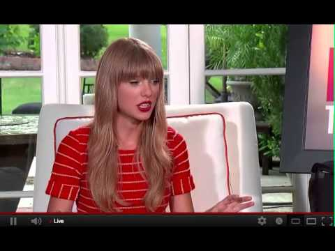 Taylor Swift Web Chat - Aug. 13, 2012 (pt. 1)