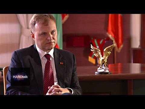 Trans-Dniester's Yevgeny Shevchuk 'We are alive, we exist' - HARDtalk