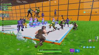 i got the 16 rarest skins in Fortnite to play turtle wars.......