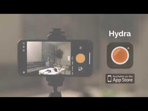 """Hydra - iOS Camera App """"Hi-Res"""" Demo / Review"""