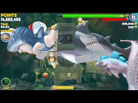 Hungry Shark Evolution Megalodon Android Gameplay #13