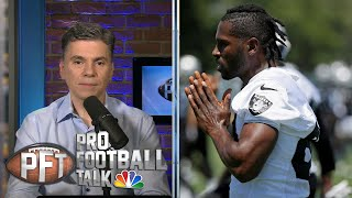 Raiders' Antonio Brown files new helmet grievance against NFL | Pro Football Talk | NBC Sports