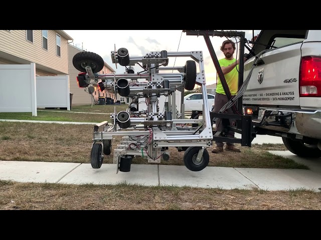 BDI's SounDAR mounted to vehicle