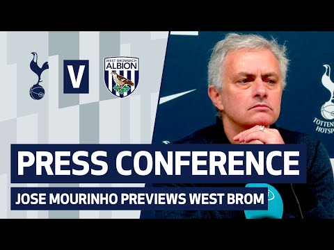 PRESS CONFERENCE | JOSE MOURINHO PREVIEWS WEST BROM