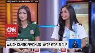 Selebritas Penghias Layar World Cup - Piala Dunia 2018 - Sandra Olga & Kartika Berliana