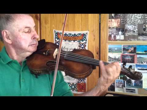 Dan Carney Playing Jacobus Stainer Lions Head Scroll Violin