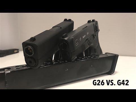 Baby Glock Comparison! Stark Arms G42 & WE G26