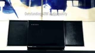 Panasonic SC-HC58 - Slim Stylish Micro System