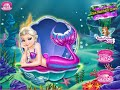 Elsa Mermaid Queen :Games4Girls