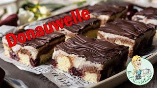 Donauwelle 🌊  Schneewittchenkuchen 🍒 mit Thermomix und großem Ofenzauberer 🍰