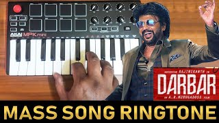 Darbar - Chumma Kizhi Mass Song Ringtone | Cover By Raj Bharath | Rajinikanth | Anirudh