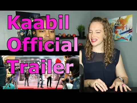 Kaabil Official Trailer | Hrithik Roshan | Yami Gautam | 25th Jan 2017 (Reaction 🔥)