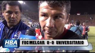 FBC MELGAR 0 - 0 UNIVERSITARIO (FULL HD) 31/01/2016 - HBA NOTICIAS