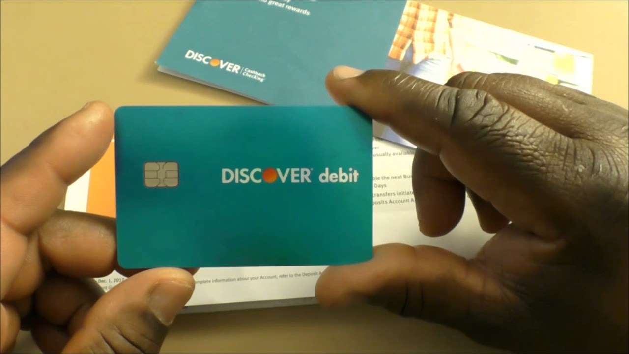 Discover Cashback Checking Account - YouTube